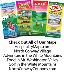 Mount Washington Valley NH map and guide